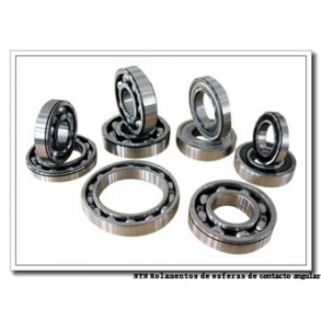 45 mm x 100 mm x 25 mm  NTN QJ309 Rolamentos de esferas de contacto angular